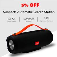 New Portable Speaker Wireless Bluetooth Stereo Radio Music Subwoofer Column Box
