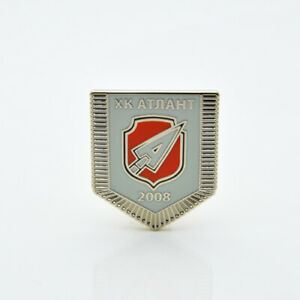 "KHL Atlant Moscow Region ""Pennant"" pin, badge, lapel, hockey"