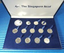 Euro Coins Collection and 1X Euro Silver Proof Commemorative Medallion