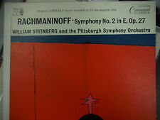 RACHMANINOFF SYMPHONY No 2 In E, Op. 27  33RPM EX 111615 TLJ