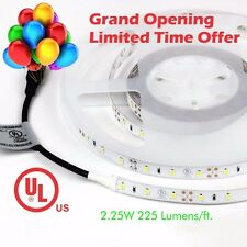 TECLED UL Listed 16ft. LED Tape/Strip Light Daylight 6500K 288x2835 12v 36W IP33