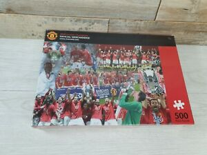 Manchester United 2008 Double Official 500 piece Jigsaw Puzzle. New & sealed.