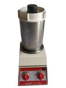 VORWERK THERMOMIX VM 2002 vintage chauffe mix robot cuisine fonctionne voir desc
