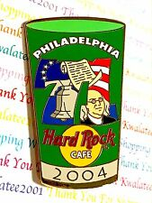 Hard Rock Cafe 2004 Philadelphia Number Pint Glass Series Pin LE NEW Pin# 24990
