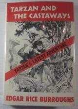TARZAN AND THE CASTAWAYS RICE BURROUGHS CANAVERAL PRESS 1965 FIRST ED DJ