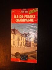 Carte IGN 1/250000 - TOP 250 -  Ile de France / Champagne - 103