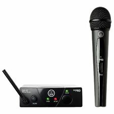 AKG Wms40 Mini Vocal Set Ism2 Wireless Microphone System