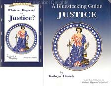 NEW Uncle Eric Book and Guide SET:  Whatever Happened to Justice? Homeschool