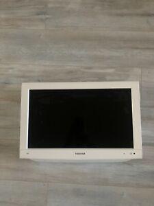 "Toshiba Tv and DVD 22"" White"