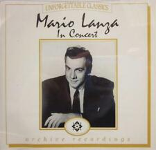 Mario Lanza(CD Album)In Concert-Castle Communications-MACCD 105