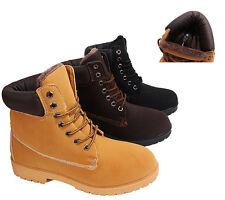 Damen& Herren Schuhe Outtdoor Boots Winter Stiefel Stiefeletten warm gefüttert