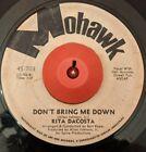 Rita Dacosta don't bring me down Mohawk promo funk northern soul original 45 mp3