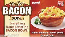 "Perfect Bacon Bowl ""As Seen on TV"" 2 Bacon Bowls"