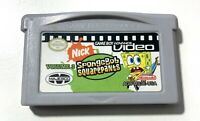 GBA Video SpongeBob SquarePants Game Boy Advance Nintendo Volume 3 TESTED WORKS!