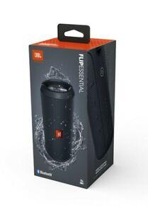 JBL Flip Essential Portable Bluetooth Speaker - Gun Metal Black - New