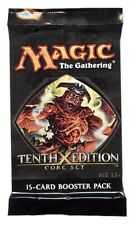 1x 10th Edition Tenth Booster Pack Sealed New Mtg Magic the Gathering Free Ship!