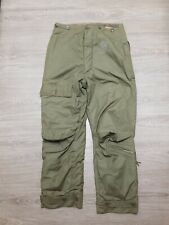 Vintage WW2 US Army Air Force Fur Lined Pants Trousers Type A-9 Tag 34""