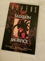 ALIENS: SALVATION AND SACRIFICE By Dave Gibbons 2001 Graphic Novel TPB