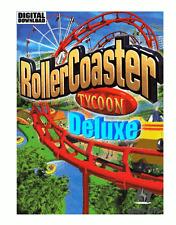 RollerCoaster Tycoon Deluxe Steam descarga digital key código [es] [ue] PC