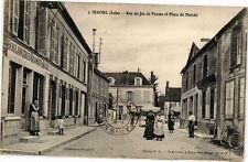 CPA TRAINEL - Rue du Jeu de Paume et Place du Marché (179082)