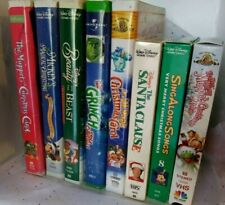 Christmas Movies (VHS)  20 Titles You Choose $2.88-$4.99 *Disney*Mickey*Muppets