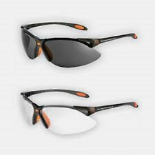 NIB Harley Davidson Personal Safety 2-pack Glasses Sunglasses, Clear & Tinted