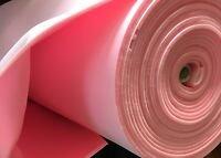 """Pink Sew foam Upholstery first quality 1/4"""" craft Padding W/Scrim Backing 60"""""""