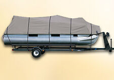 DELUXE PONTOON BOAT COVER Avalon LS - Bow Fish 21 ft.