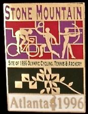 Cycling, Tennis & Archery Olympic Pin~ Stone Mountain Venue~1996~LE~1916/2500