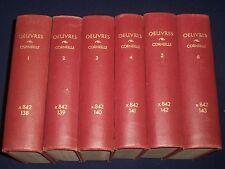 1862 OEUVRES DE P. CORNEILLE VOLUME LOT 1 THRU 12 - FRENCH - KD 2241