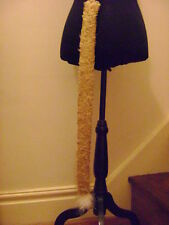 "Lion Tail Soft Gold Animal Tail Fur Long 28"" Clip On Tail One Size Fancy Dress"