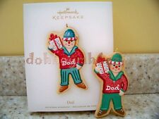 Hallmark 2007 Dad Gingerbread Man Christmas Ornament