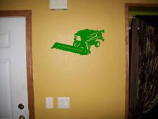 Combine Harvestor Vinyl Decal wall decor Sticker Large