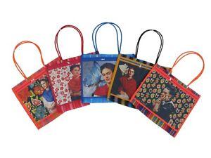 5 PACK Assorted Frida Khalo ASA Fina Bag
