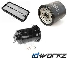 TOYOTA LEVIN AE111 1.6 BZG 4AGE OIL AIR FUEL FILTER SERVICE KIT OEM