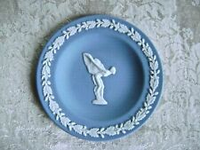 RARE WEDGWOOD BLUE JASPERWARE SPIRIT OF ECSTASY ROLLS ROYCE PIN DISH