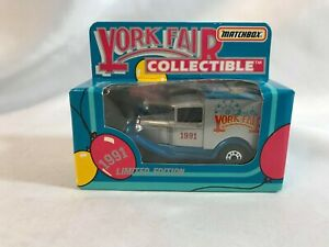 York Fair Limited Edition 1991 Matchbox '79 Ford Delivery Truck York Pa