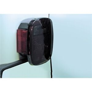 Rugged Ridge 11354.01 Taillight Black Out Fits CJ5 CJ7 Scrambler TJ Wrangler