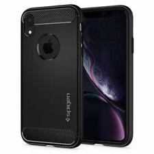 Spigen iPhone XR Case Rugged Armor - Matte Black