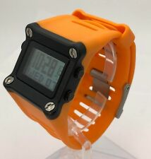 Nike Hammer WC0034 Bright Orange Black LeBron James Basketball Sport Mens Watch