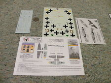 Eagle Strike  decals 1/48 48045 Augsburg's Flyers Part I  BF109F/G  N44