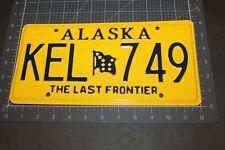 2006 Alaska The Last Frontier License Plate Kel 749