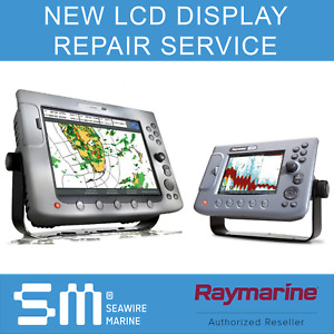 Raymarine E & C series NEW LCD Screen Repair Service   3 YR WARRANTY