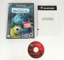 Monsters Inc Scream Arena - NO MANUAL - Nintendo Gamecube 2002 - Disney Pixar