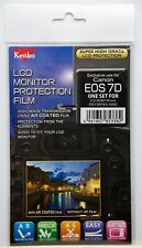 Kenko LCD Monitor Protection Film - Canon EOS 7D Camera Screen Protector