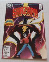 Shazam # 1......NM-....9.2 grade--r...1987 comic book