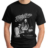 New Steely Dan Pop Rock Band Music Legend Men's Black T-Shirt Size S-5XL