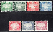 ADEN 1937 STAMP Sc. # 1/2 and 4/8 MNH/MH