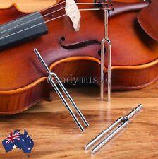 "Tuning Fork ""a"" 440 Tuner for Violin Mandolin Guitar Musical Instrument Steel"