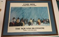 Signed Earl Biss Print - The Squash Blossom; Vail Colorado 1980